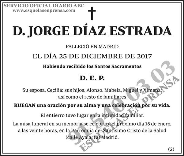 Jorge Díaz Estrada